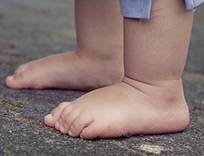 Children should wear proper sized shoes.